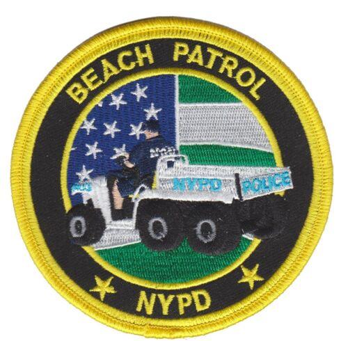 BEACH PATROL CONNEY ISLAND NEW YORK Police patch