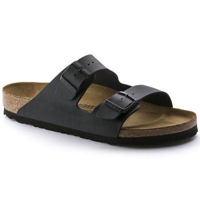 New Birkenstock Arizona Classic Sandals Black Made in Germany | eBay