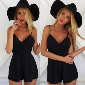 4811c4539b9 Hot Women Sexy Playsuit Bodycon Party Beach Jumpsuit Romper Trousers ...