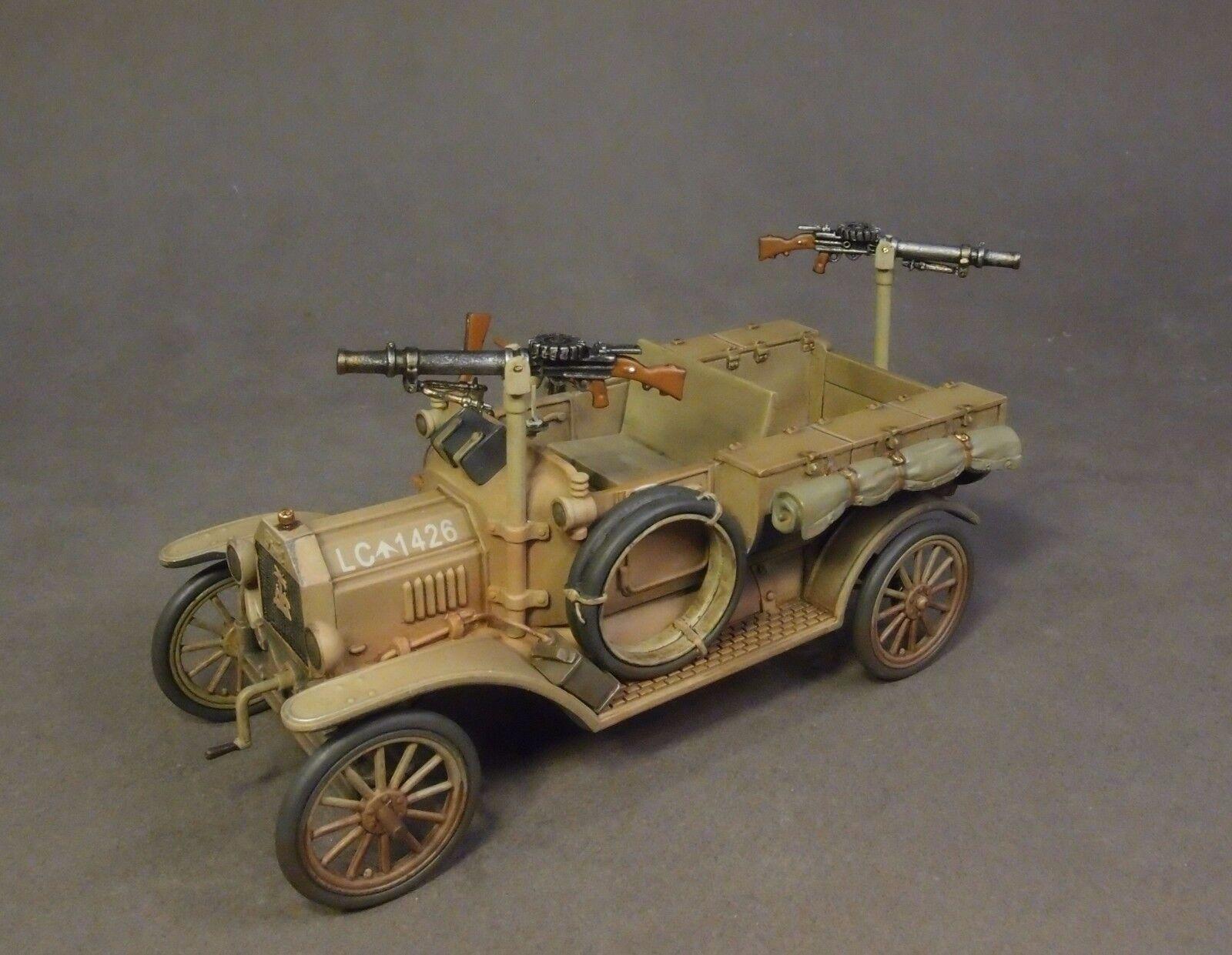 JOHN JENKINS WW1 WHEELS ACROSS THE DESERT WAD-22 AUSTRALIAN 1ST LIGHT CAR MB