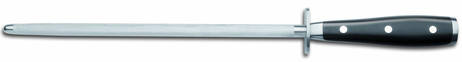 Wusthof Classic Ikon Fusil à aiguiser en acier, 26 cm