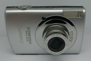 Canon-IXUS-860-is-8-0MP-Digital-Camera-faulty-for-spares-Parts-Repair-SD870
