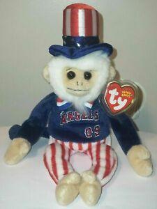 Ty LA Angeles PROMO Beanie Baby - RALLY DOODLE DANDY the Monkey (8.5 Inch) MWMT