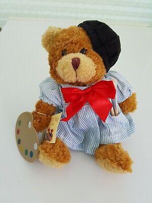 """Il Teddy Bear Collection """"alphonse, L'artista""""-mostra Il Titolo Originale Facile Da Usare"""