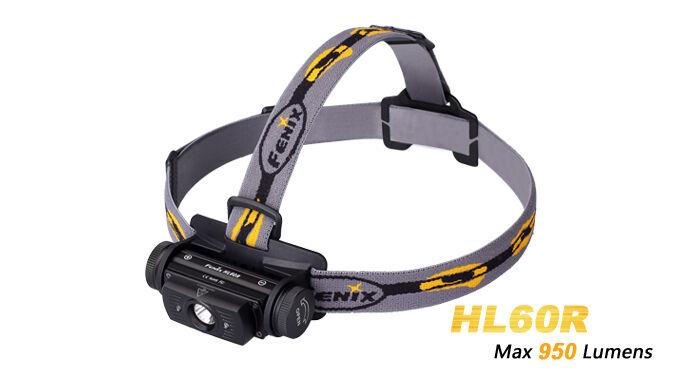 Fenix HL60R 950LM CREE XM-L2 T6 LED USB del recargable 18650/CR123 linterna del USB faro df7922