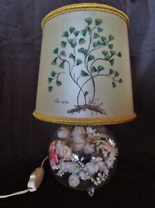ancienne-lampe-pieds-en-verre-fleurs-sechees-abat-jour-felix-capiltus-vintage