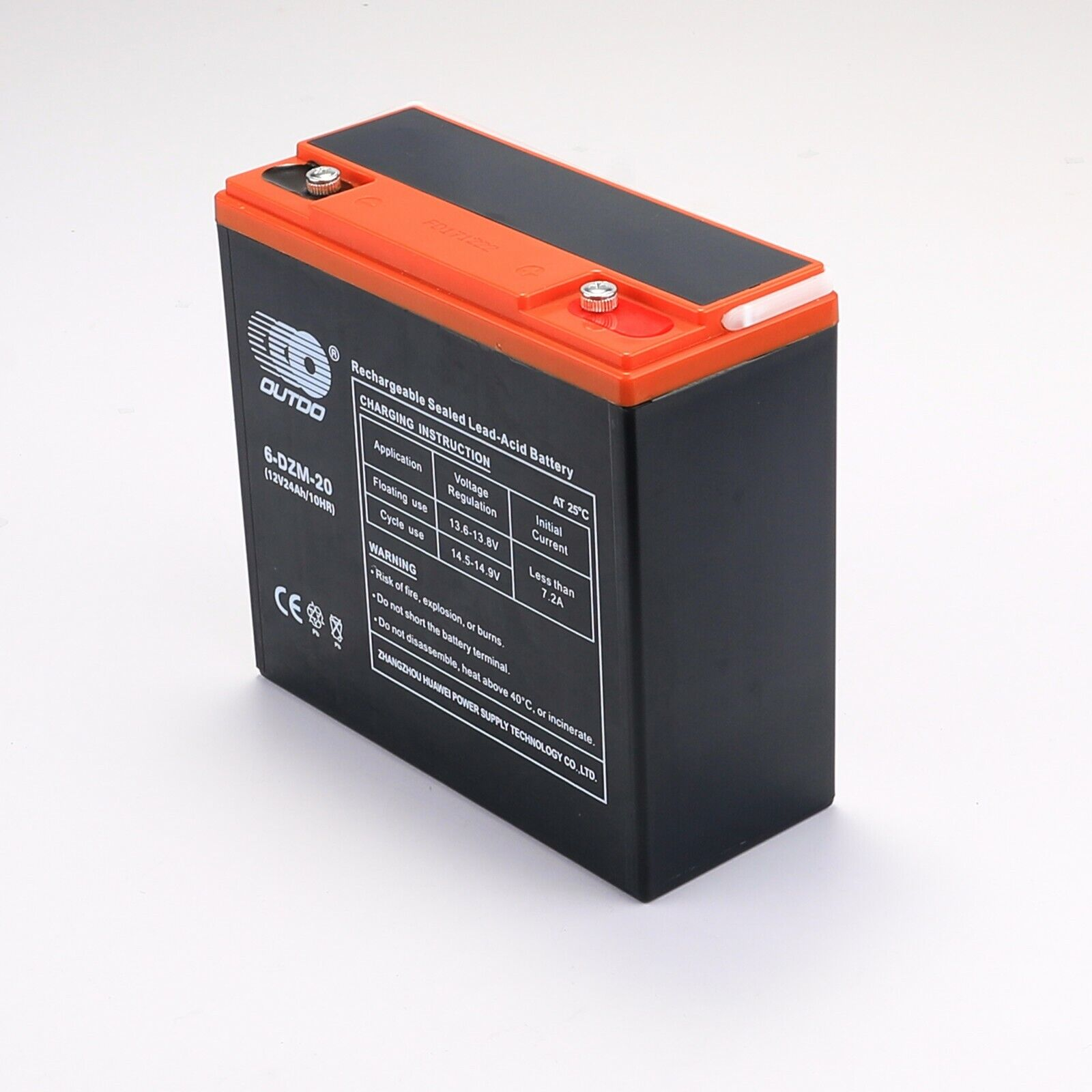 6DZM20 12V 20Ah Rechargeable Scooter Battery Replaces 6-dzm-20 lcx1220p MK20-12