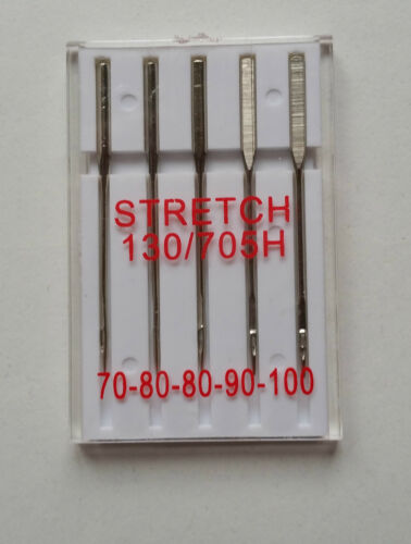 Stretch-agujas Needle 130-705 h plana pistón grosores de gama 70-100 camisa de pantalones