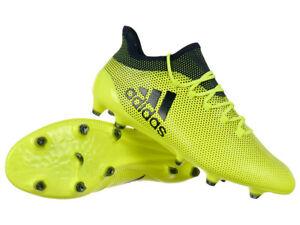 Détails sur Adidas Techfit X 17.1 FG PRO Terre Ferme Chaussures De Football Crampons Moulé Clous afficher le titre d'origine