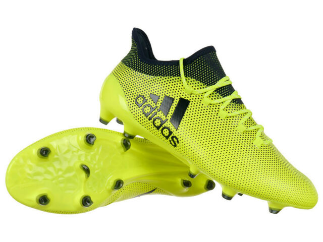 adidas TechFit X 17.1 FG Pro Firm Ground Football Boots Cleats Moulded Studs 6fccac813523