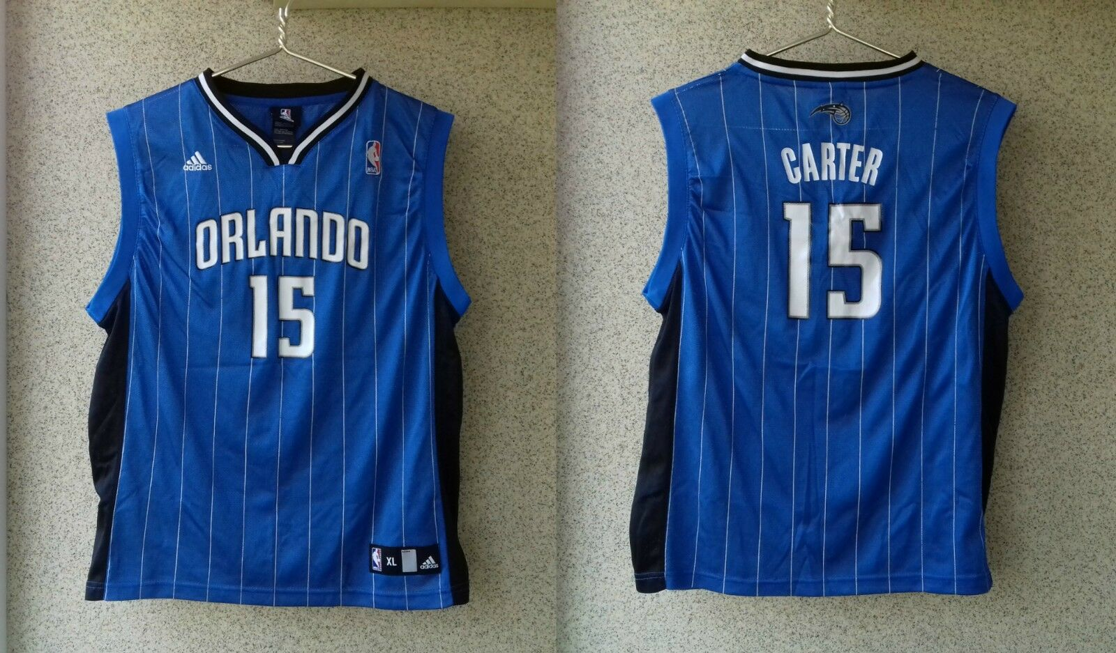 Maillots de basket Orlando Magic NBA USA CHEMISE CAMISETA # 15 Vince Carter