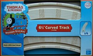 """Thomas the Train 3 1//2 /"""" SINGLE CURVED SWITCH Clickety Clack Track In the Box!"""