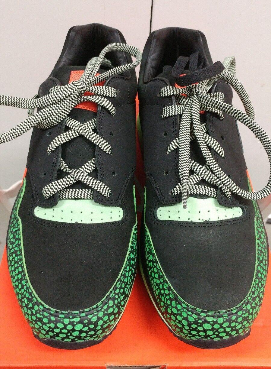 DS NIB Nike Air Safari Supreme Size 9.5 321952-001 Animal Black Green