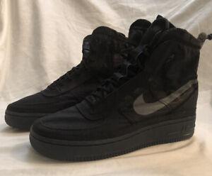 Nike Air Force 1 AF1 Shell Black Dark