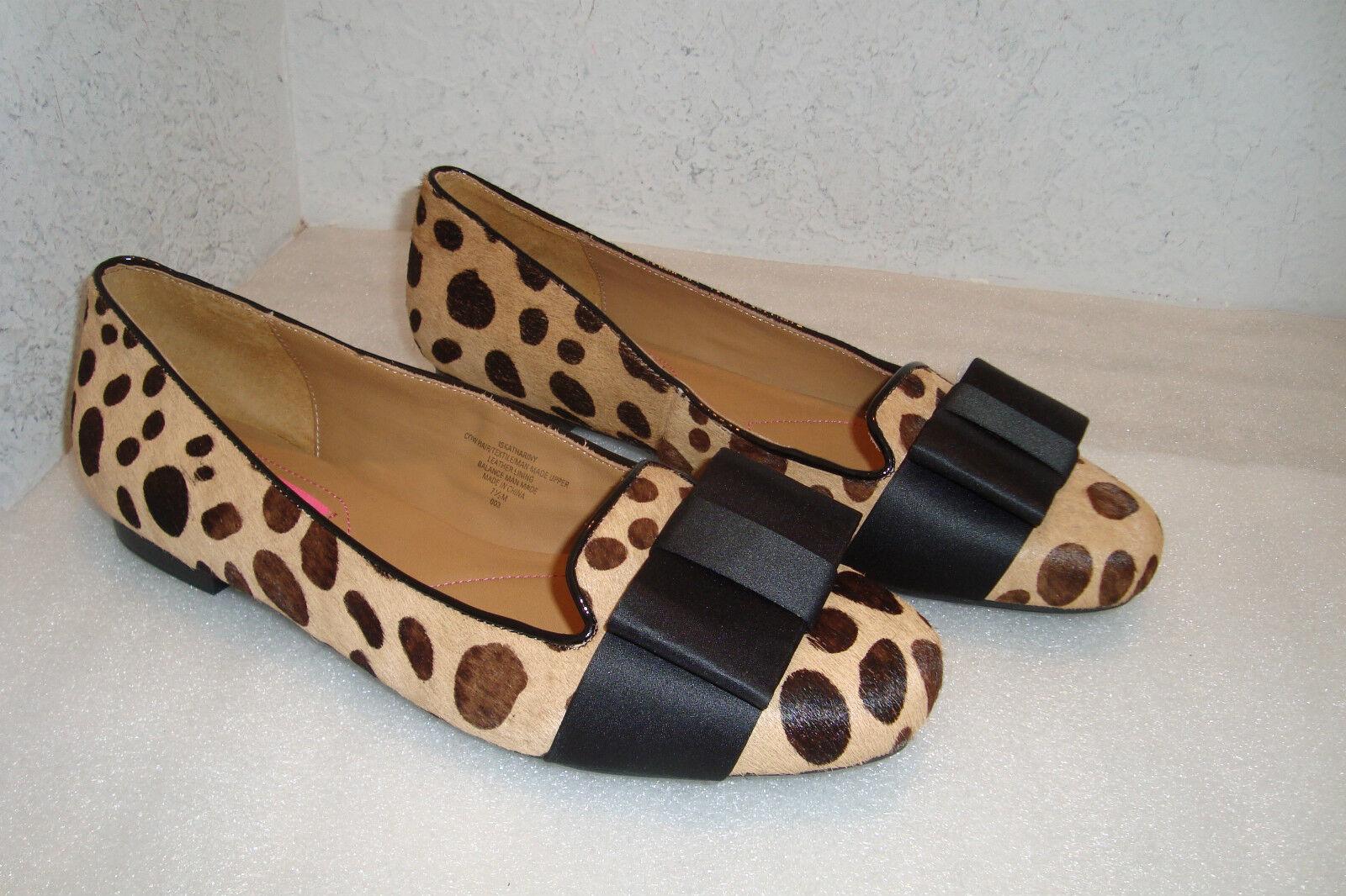 Isaac Mizrahi New York Womens NWOB Katheriny Multi Print Flats shoes 7.5 MED NEW