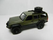 Johnny Lightning *DARK METALLIC GREEN* Jeep Cherokee 4x4 *ERTL COLLECTIBLES*