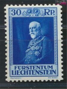 Liechtenstein-124-geprueft-postfrisch-1933-Geburtstag-des-Fuersten-9030011
