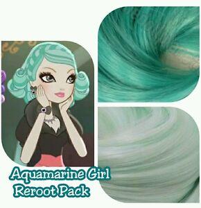 Annieolivia In Iris Green Aquamarine Arctic Mist Fox Hair Color