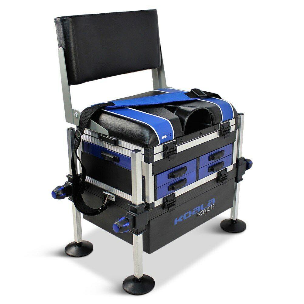 Koala Products® KS5 System 5 Drawer Seat Box & Back Rest