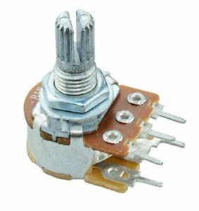 5 X 10k Linear 16mm Potentiometer Pot W/switch