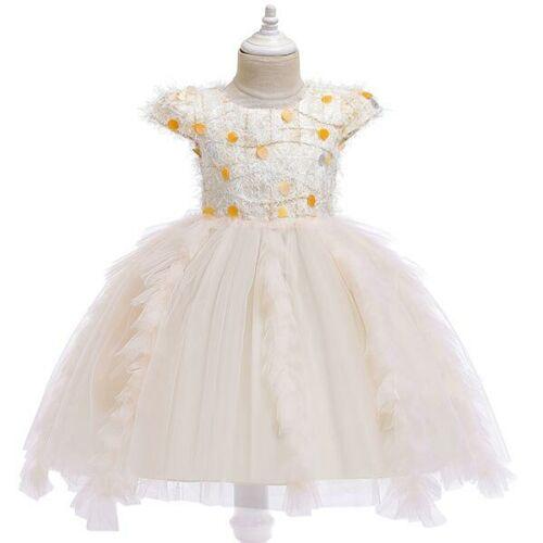 Flower Kid Baby Princess Tutu Bridesmaid Dresses Party Dress Formal Girl Wedding
