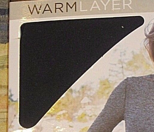 e763933280b4d Womens Cuddl Duds Warm Layer Stretch Fleece Leggings Bottoms Pants Black LG  | eBay