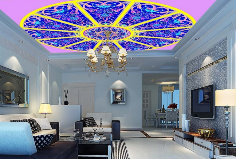 3D Bright Dome Floral 78 Wall Paper Wall Print Decal Wall Deco AJ WALLPAPER