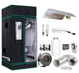 Image is loading Grow-Tent-Light-Kit-w-400w-600w-Watt-  sc 1 st  eBay : grow tent and light package - afamca.org