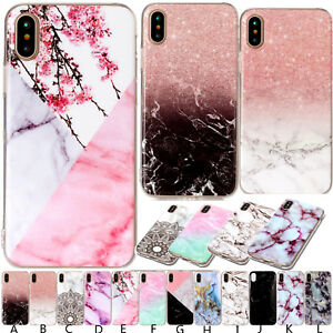 TPU-Silicone-Bumper-Case-Phone-Back-Cover-For-iPhone-8-7-Plus-XR-iPod-Touch-5-6