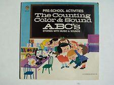 The Wonderland Choir - Preschool Activities Vinyl LP Record Album WLP-324