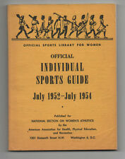 Golf Horseback Riding Fencing Archery Bowling 1952 Women's Physical Education