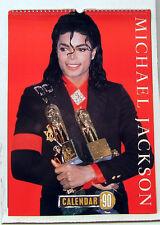 "1990 MICHAEL JACKSON 12 Month Calendar 12""x16"" (FW-CALMJ90)"