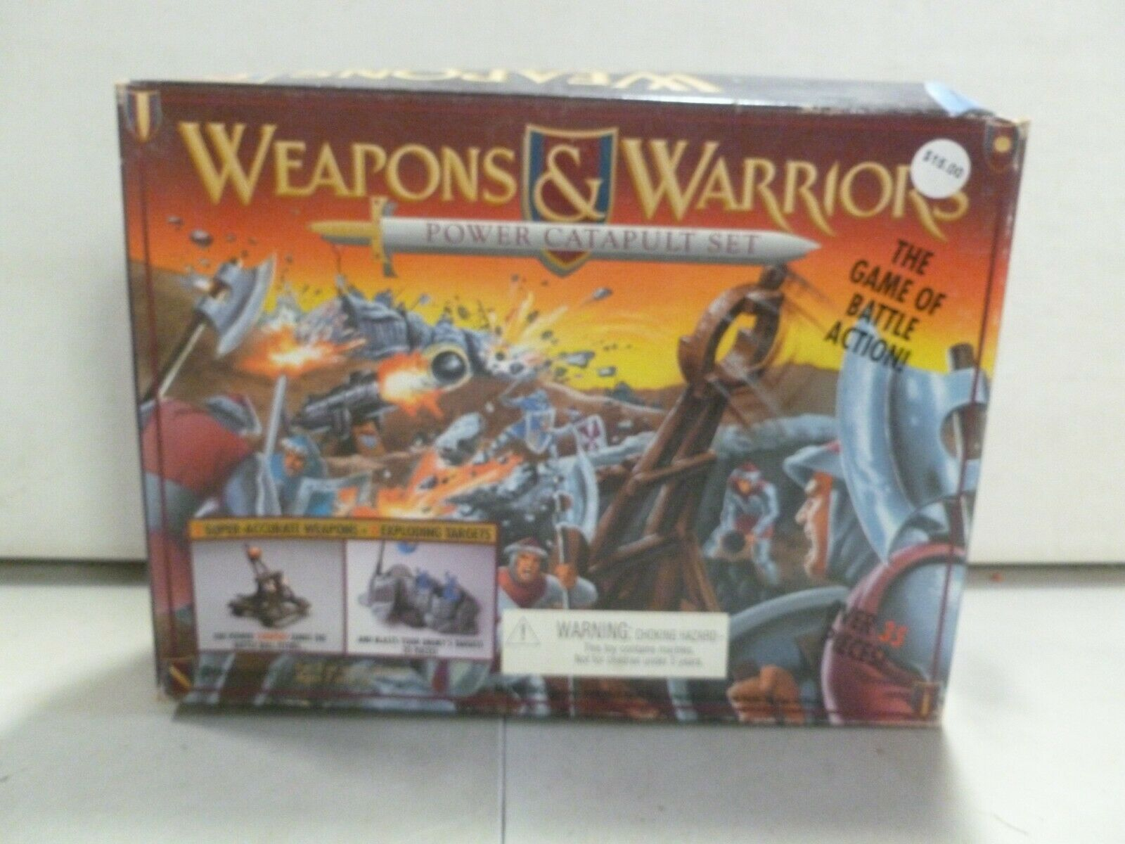 1995 Pressman Weapons and Warriors Power Catapult Set (1)