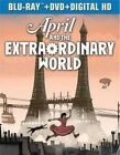 April and The Extraordinary World - Blu-ray Region 1