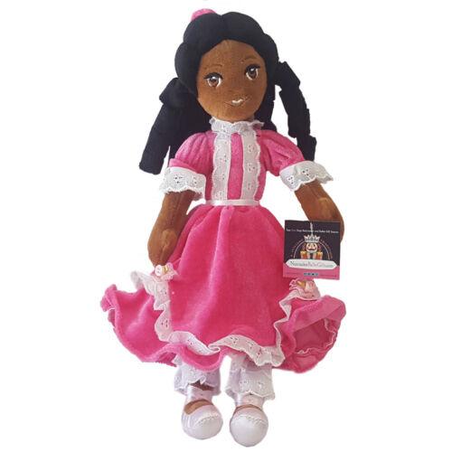 Christmas Nutcracker Ballet Clara Ballerina Plush Doll Toy African American