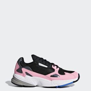 Adidas-Originals-Falcon-B28126-noir-rose-Femme-Baskets-Chaussures-De-Course