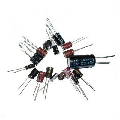 All Brand Electrolytic Capacitor Assortment Kit for Motherboard repair 475Pcs