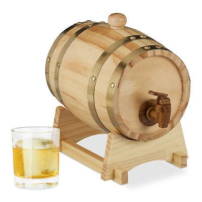 Whisky Fass Wein Fass 3L Liqueur Weinfass Schnapsfass Holzfass Schnaps Fass