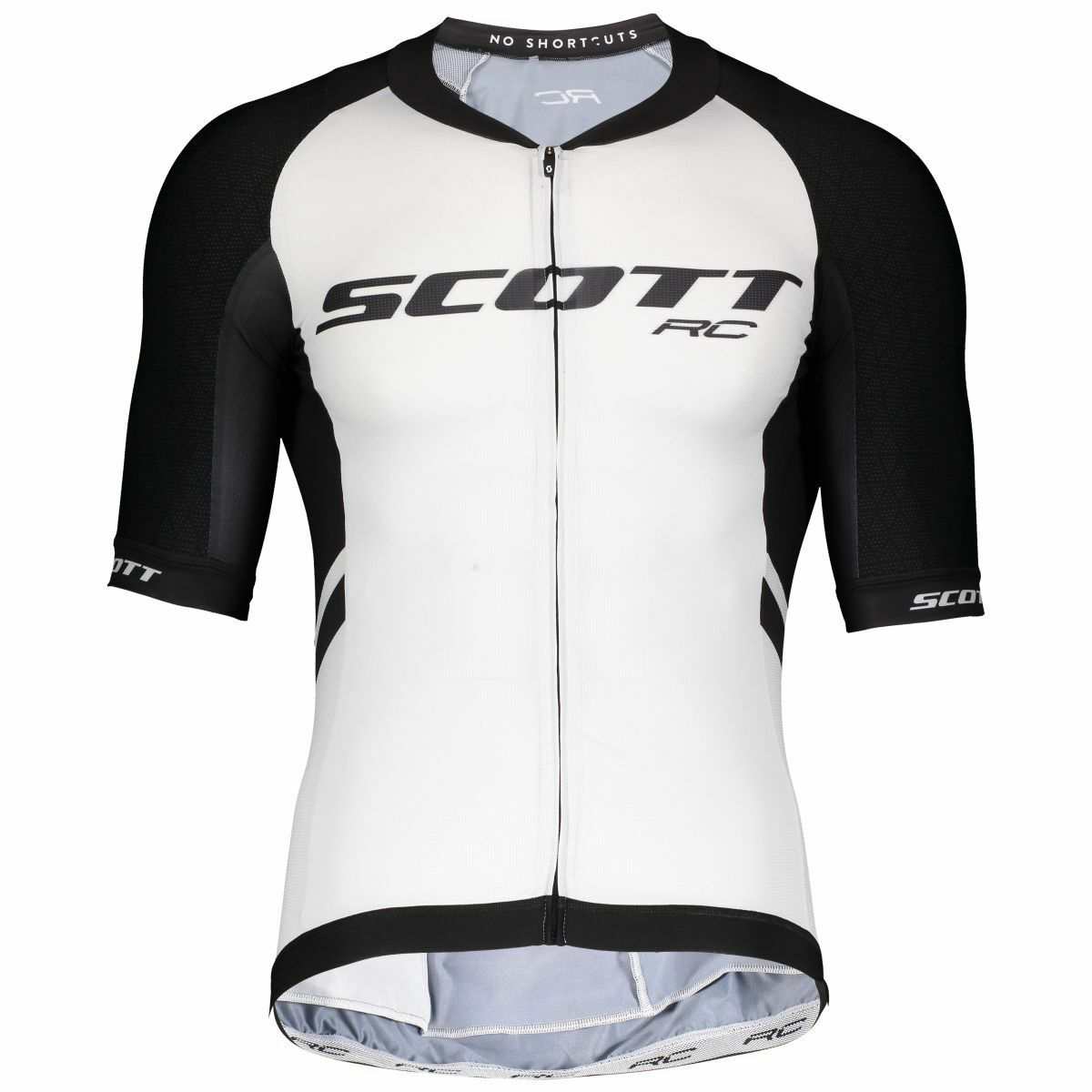 Scott RC premium ITD bicicleta camiseta corto blancoo negro 2019