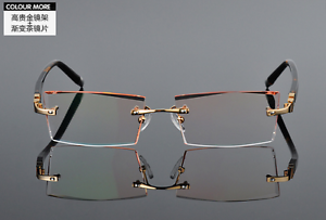 5ba60b0caa Image is loading Rimless-Eyeglass-Frames-Eyewear-Frame-Diamond-Glasses -Women-