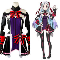 Sword Art Online Sao The Movie Ordinal Scale Os Yuna Dress Cosplay Costume Suit
