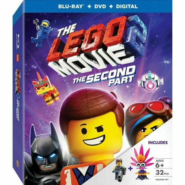 The Lego Movie 2 The Second Part Blu Ray Dvd Digital Target Exclusive 2019 For Sale Online Ebay