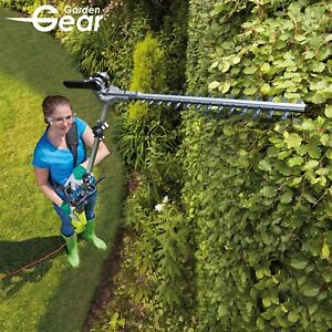 Garden Gear Electric Corded Pole Hedge Trimmer Long
