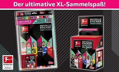 Topps Starterpack und Displaybox Sammelkarten Sammelsticker Bundesliga Sticker