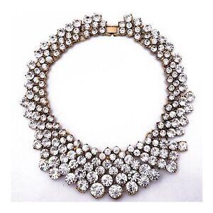 Halskette-Abend-Kette-Statementkette-Charms-Necklace-Collier-L473