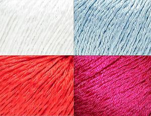 Filatura-di-Crosa-Brilla-Cotton-Blend-Yarn-Color-Choice-Knit-Crochet-FS-Offer