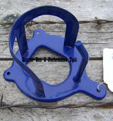 Blue Bridle Holder Vinyl Coated Steel