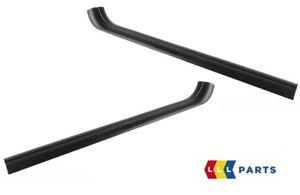Nuevo-original-BMW-serie-3-E92-E93-CONJUNTO-DE-PAR-NEGRO-alfeizar-de-la-puerta-interior-izquierda