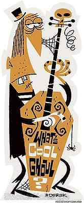 What's Cool Ghoul? Player Sticker Decal D. Yaniger DY15
