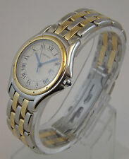 CARTIER PANTHERE COUGUAR OROLOGIO ORO ACCIAIO REF 187904 WATCH UNISEX